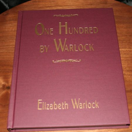 One Hundred By Warlock by Elizabeth Warlock