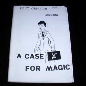 A Case For Magic by Tony Griffith