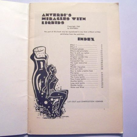 Anverdi's Miracles with Liquids by Anverdi