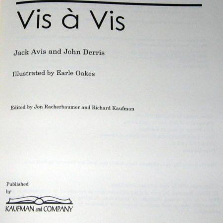 Vis- by Jack Avis, John Derris