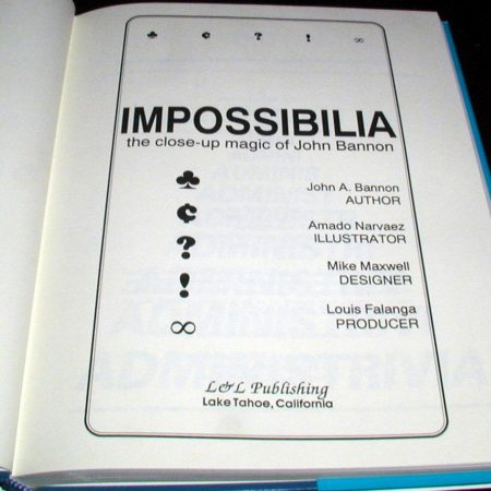 Impossibilia by John Bannon