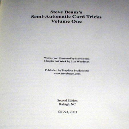 Semi-Automatic Card Tricks: Vol. 1 by Steve Beam