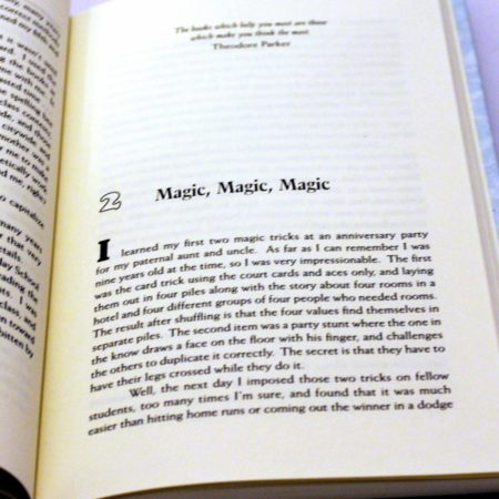 The Magic In Books by Leo Behnke