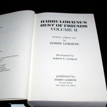 Best of Friends, Vol.2 by Harry Lorayne