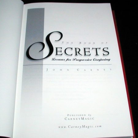 Book of Secrets, The by John Carney