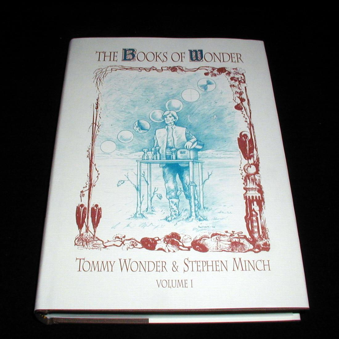 Books of Wonder 2-Vol Combo set Tommy Wonder /& Stephen Minch Collectable /& New
