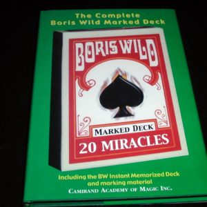 Complete Boris Wild Marked Deck, The by Boris Wild
