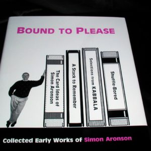 Bound To Please by Simon Aronson