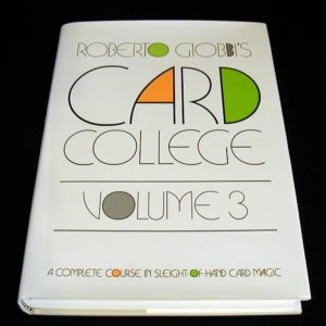 Card College - Vol. 3 by Roberto Giobbi
