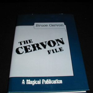 Review by Anonymous for Cervon File, The by Bruce Cervon