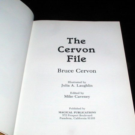 Cervon File, The by Bruce Cervon