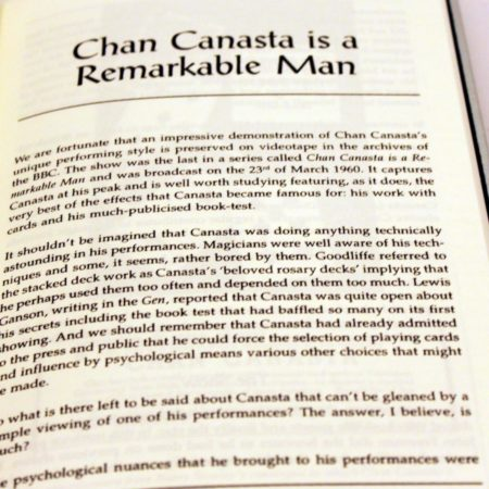 Chan Canasta - A Remarkable Man by David Britland