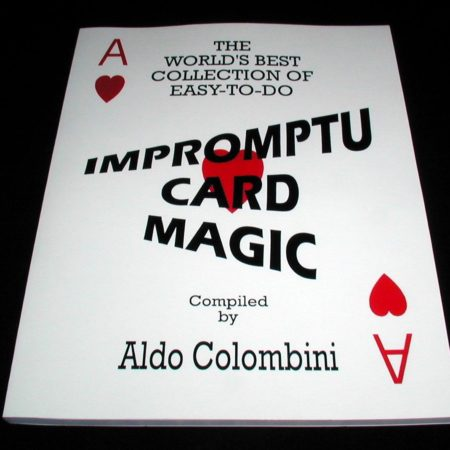 Impromptu Card Magic by Aldo Colombini