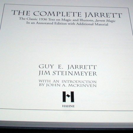 Complete Jarrett, The by Guy Jarrett/Jim Steinmeyer