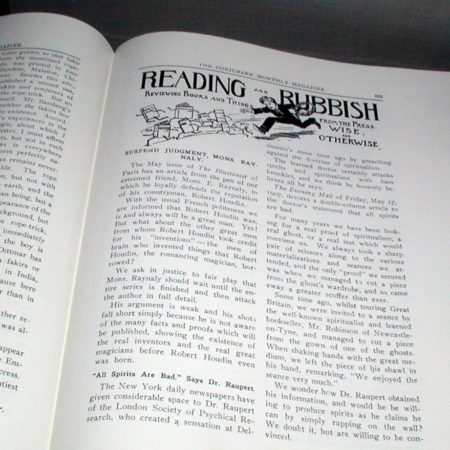 Conjurers' Monthly Magazine - Vols. 1-2 by Harry Houdini