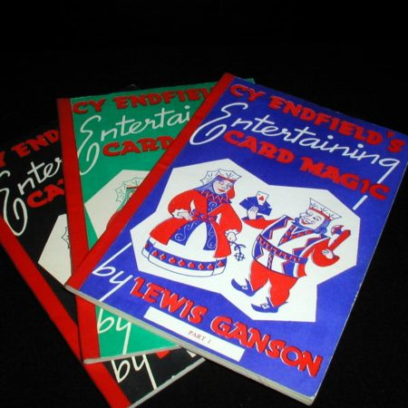Cy Endfield's Entertaining Card Magic 3 by Lewis Ganson