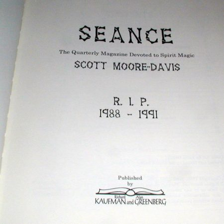 Seance by Scott Moore-Davis