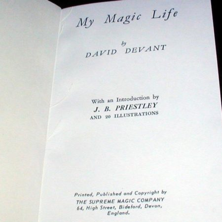 My Magic Life by David Devant