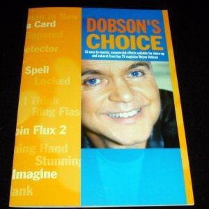 Dobson's Choice by Stephen Tucker, Wayne Dobson