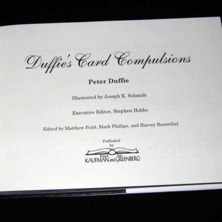 Duffie's Card Compulsions by Peter Duffie