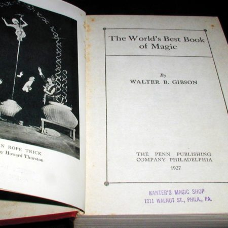 World's Best Book of Magic, The by Walter B. Gibson