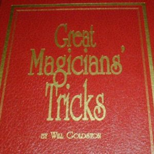 Great Magicians' Tricks by Will Goldston