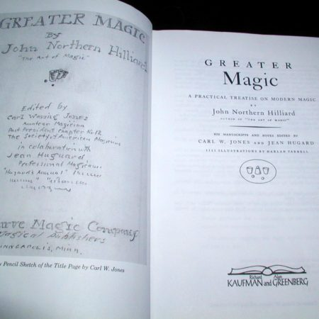 Greater Magic by John Northern Hilliard