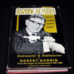 HarbinCadabra by Robert Harbin