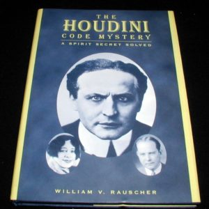 Houdini Code Myster, The by William V. Rauscher
