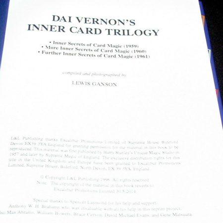 Dai Vernon's Inner Card Trilogy by Lewis Ganson
