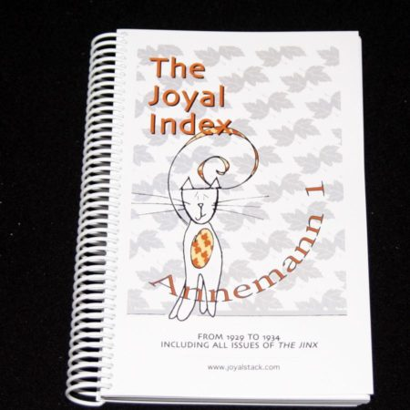 The Joyal Index: Annemann 1 by Martin Joyal