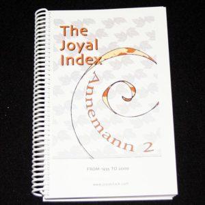 The Joyal Index: Annemann 2 by Martin Joyal