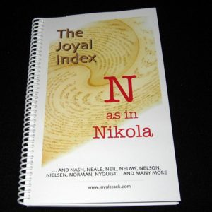 The Joyal Index: N as in Nikola by Martin Joyal