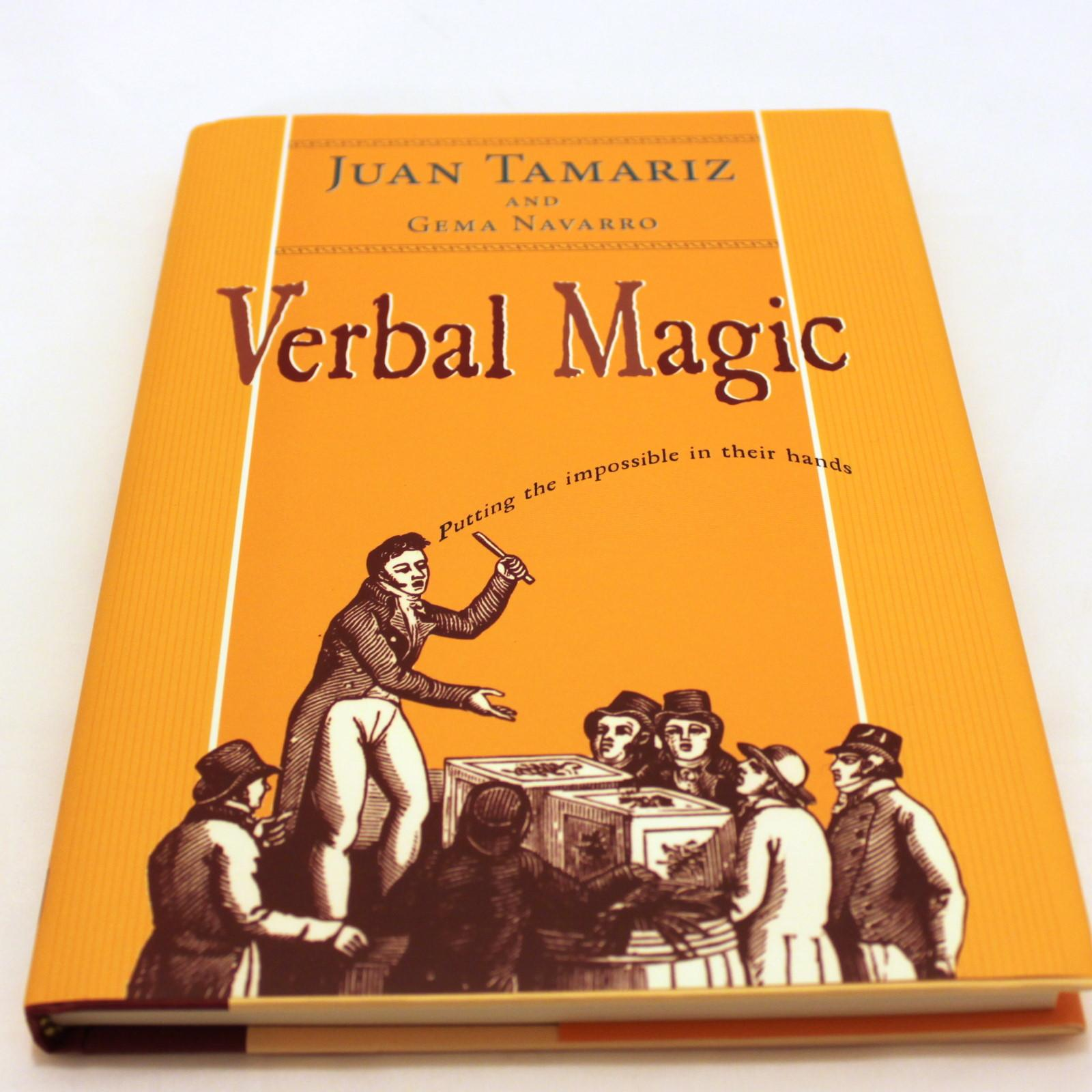 Verbal Magic by Juan Tamariz, Gema Navarro – Quality Magic Books