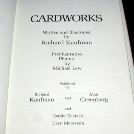 CardWorks by Richard Kaufman