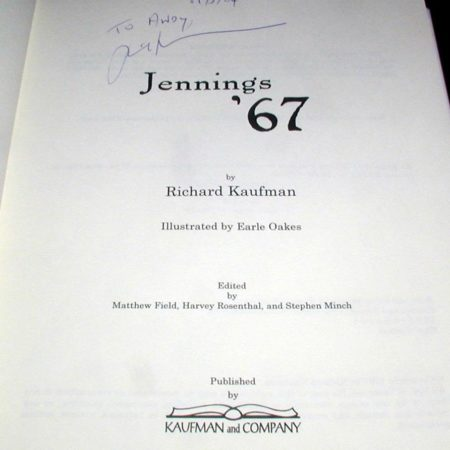 Jennings '67 by Richard Kaufman