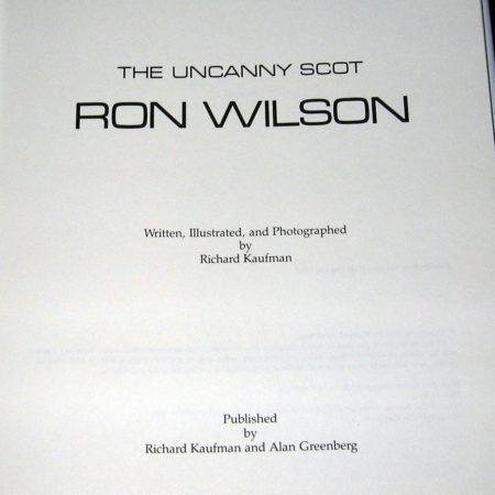 Uncanny Scott - Ron Wilson, The by Richard Kaufman