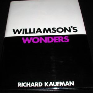 Review by Sean Waters for Williamson's Wonders by Richard Kaufman