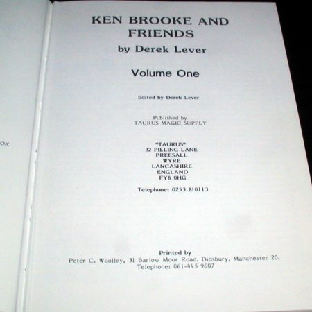 Ken Brooke & Friends by Derek Lever