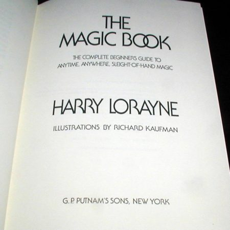Magic Book, The by Harry Lorayne