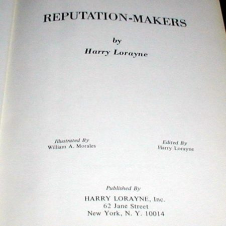 Reputation Makers by Harry Lorayne