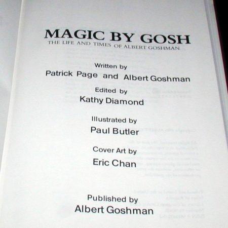Magic by Gosh by Patrick Page, Albert Goshman