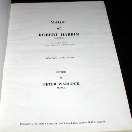 Magic of Robert Harbin by Robert Harbin