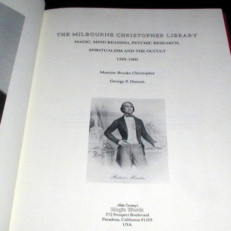 Milbourne Christopher Libray - Vol. 1 by Maurine Christopher, George Hansen