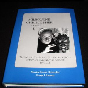 Milbourne Christopher Libray - Vol. 2 by Maurine Christopher, George Hansen