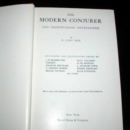 Modern Conjurer by C. Lang Neil