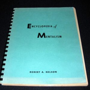 Encyclopedia of Mentalism by Robert Nelson