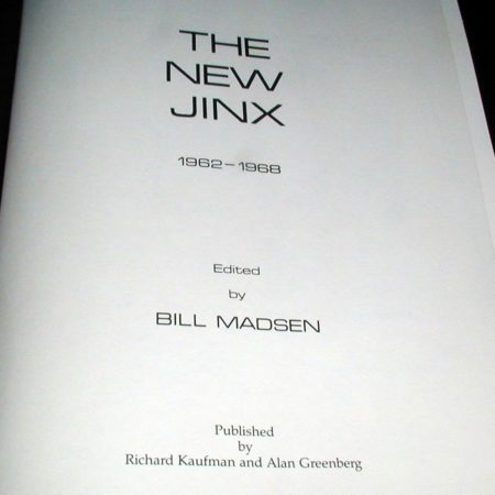 New Jinx, The by Bill Madsen