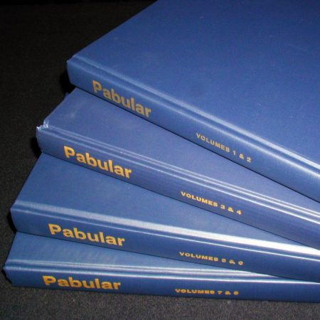 Pabular Vol. 3-4 by Fred Robinson
