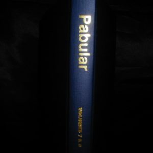 Pabular Vol. 7-8 by Walt Lees